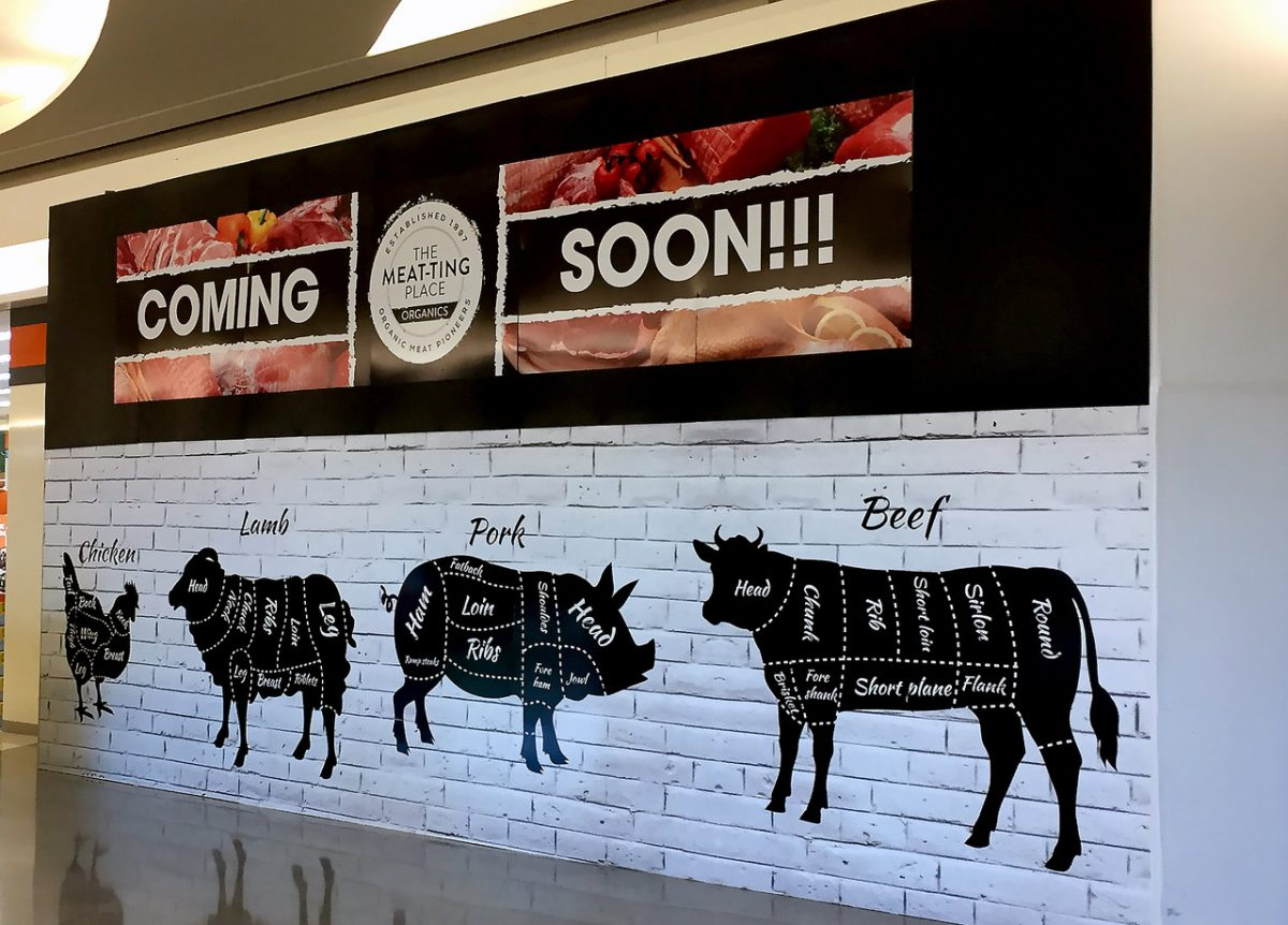 Meat-Ting Place Hoarding
