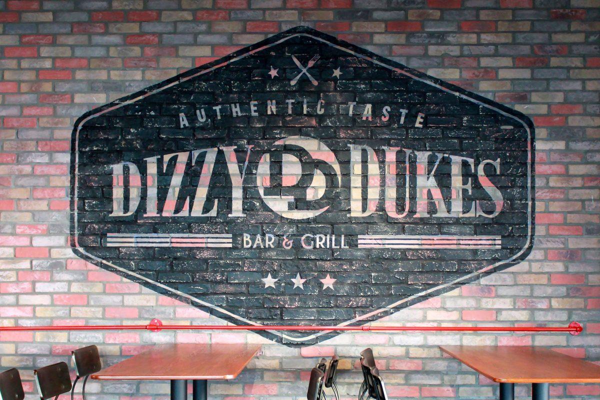 Dizzy Wall Stencil