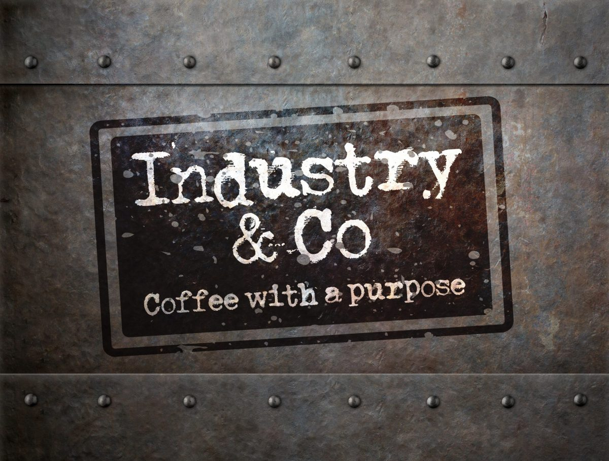 grunge metal with rivets background