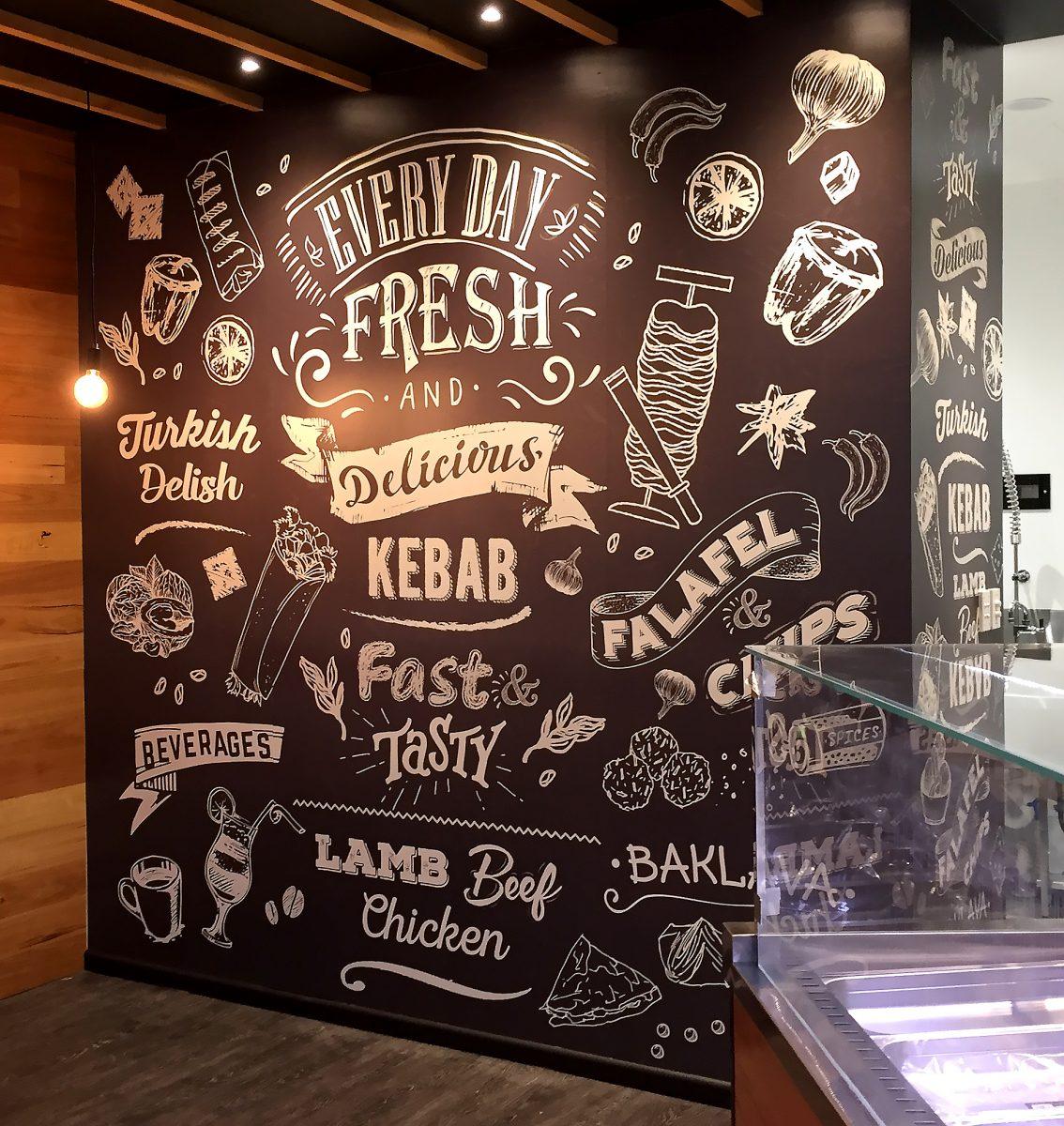 Kebab Express Wall Mural