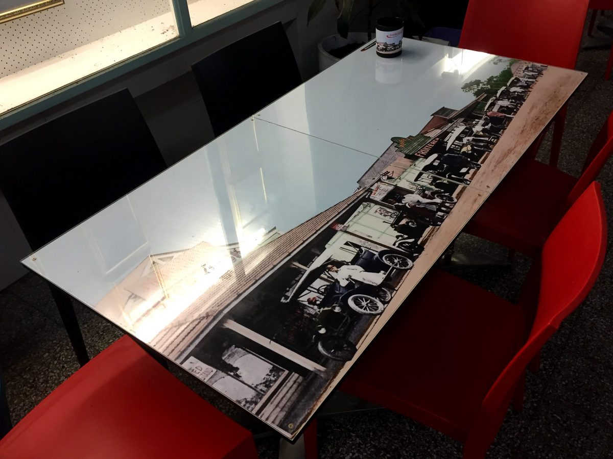 Nerosso Table Old Redcliffe Pde