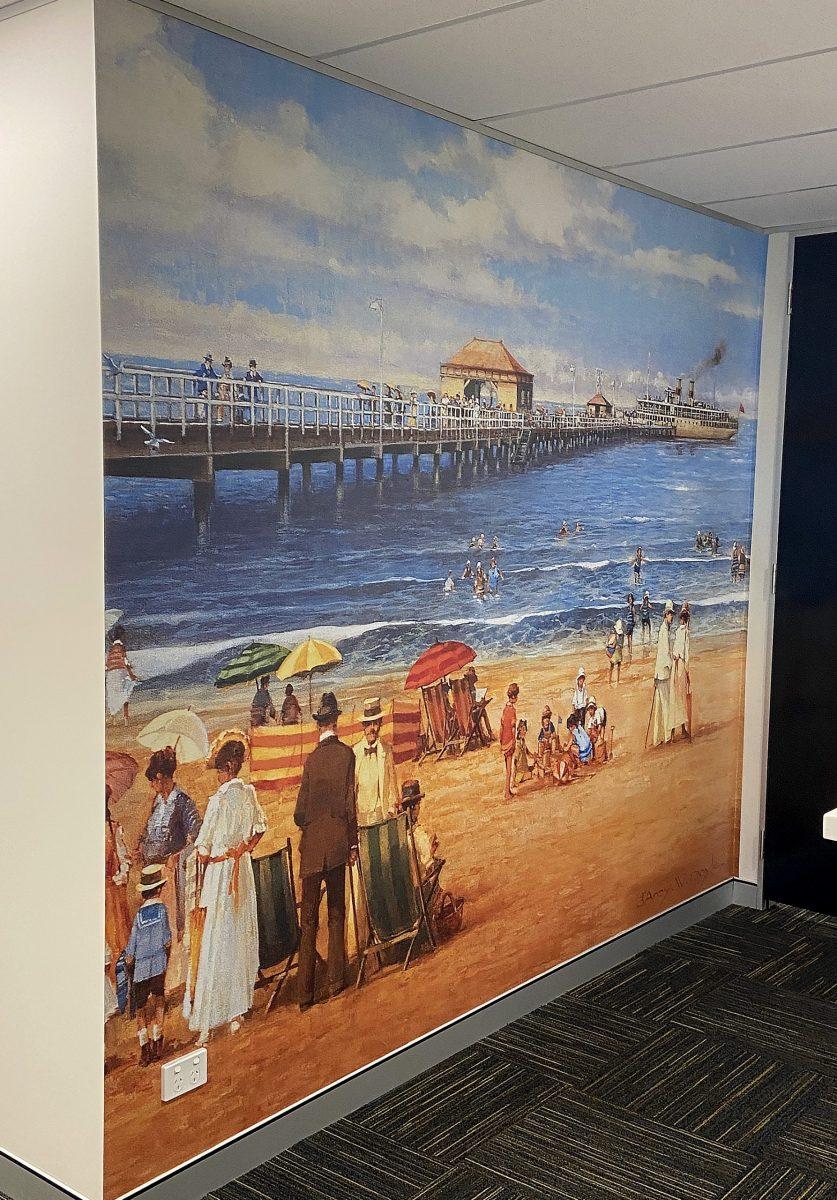 Parker Wall Mural