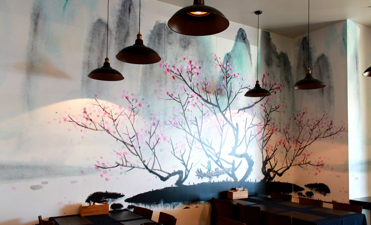 Redcliffe Noodle Wall Mural 2